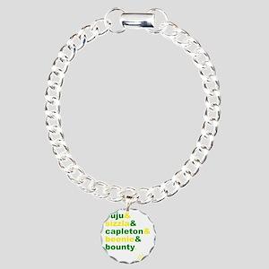 90s Dancehall Charm Bracelet, One Charm