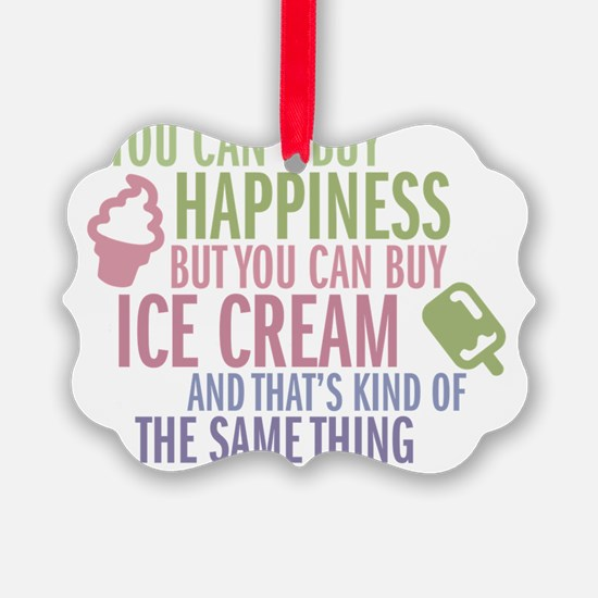 happiness Picture Ornament