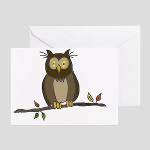 Owl-01 Greeting Card