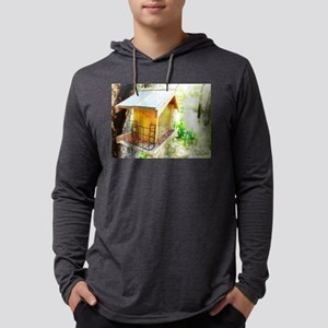 Bird House in Tree Long Sleeve T-Shirt