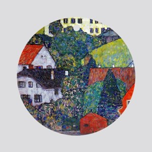 Klimt Round Ornament