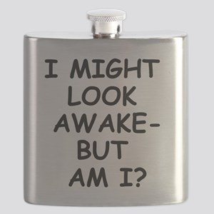 I might look awak - but am I? Flask