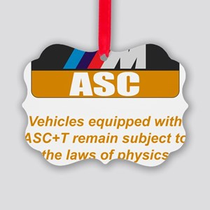 Bimmer ASC Off Indicator Picture Ornament