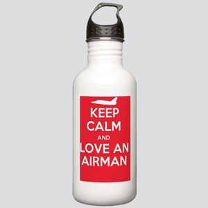 Keep Calm and Love an  Stainless Water Bottle 1.0L