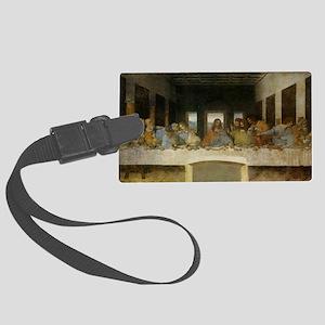 The Last Supper - Leonardo da Vi Large Luggage Tag