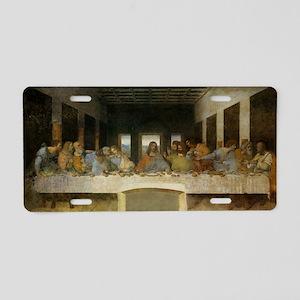 The Last Supper - Leonardo  Aluminum License Plate