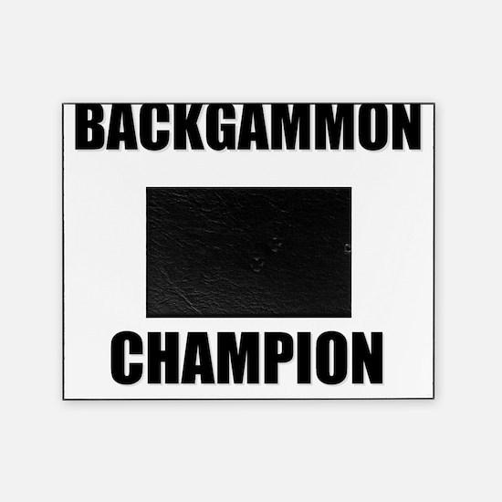 backgammon champ Picture Frame