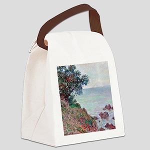 Mediterranean Coast Canvas Lunch Bag