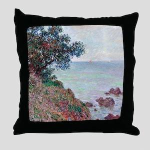 Mediterranean Coast Throw Pillow