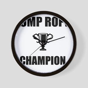 jump rope champ Wall Clock