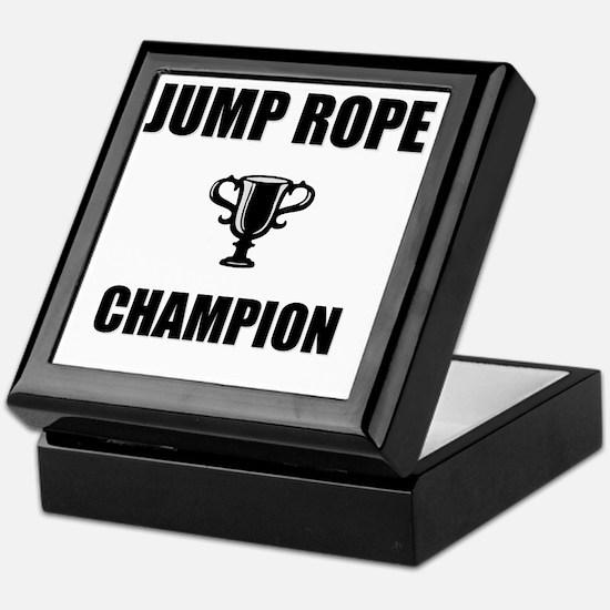 jump rope champ Keepsake Box