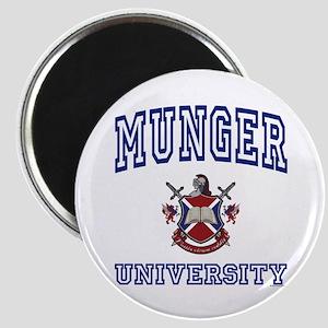 MUNGER University Magnet