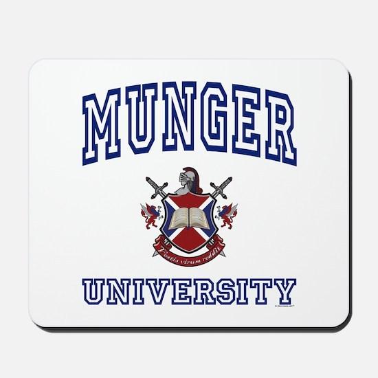 MUNGER University Mousepad
