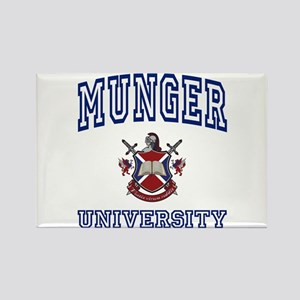 MUNGER University Rectangle Magnet