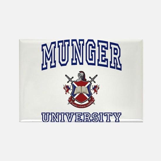 MUNGER University Rectangle Magnet
