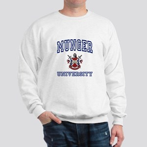 MUNGER University Sweatshirt
