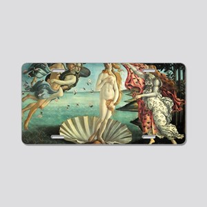 The Birth of Venus - Sandro Aluminum License Plate