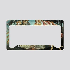 The Birth of Venus - Sandro B License Plate Holder