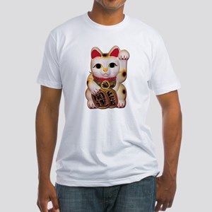 Lucky Cat Fitted T-Shirt