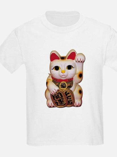 Lucky Cat Kids T-Shirt