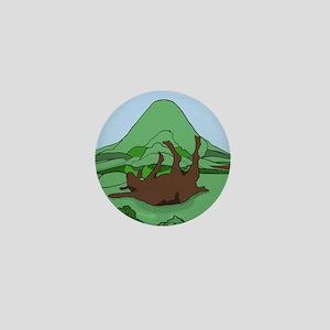 Simple South Mountain MGR logo Mini Button