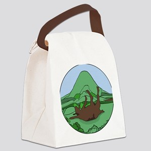 Simple South Mountain MGR logo Canvas Lunch Bag