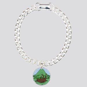 Simple South Mountain MG Charm Bracelet, One Charm