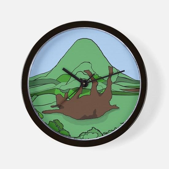 Simple South Mountain MGR logo Wall Clock