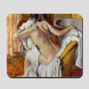 Edgar Degas After The Bath Mousepad