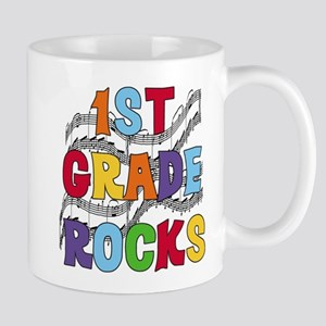 Bright Colors 1st Grade Mug