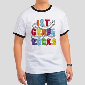 Bright Colors 1st Grade Ringer T