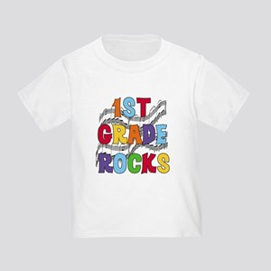 Bright Colors 1st Grade Toddler T-Shirt
