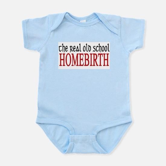 old school home birth Infant Bodysuit
