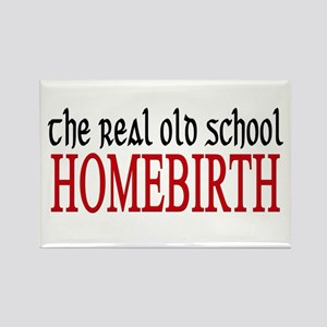 old school home birth Rectangle Magnet