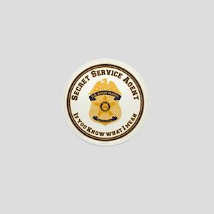 The XXX SecretService Mini Button