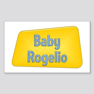 Baby Rogelio Rectangle Sticker