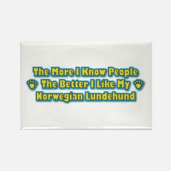 Like Lundehund Rectangle Magnet (10 pack)