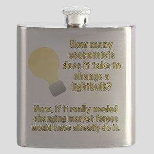 Economist lightbulb joke Flask