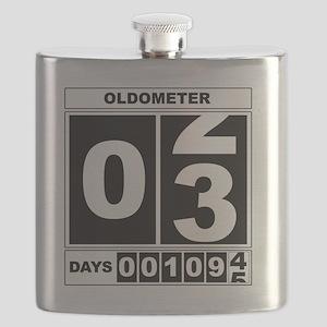 3rd Birthday Oldometer Flask