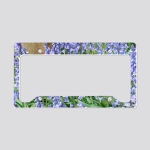 Bluebells License Plate Holder
