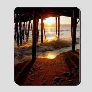 Pier Sunrise Mousepad