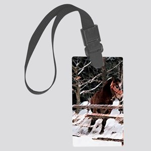Horse Large Luggage Tag