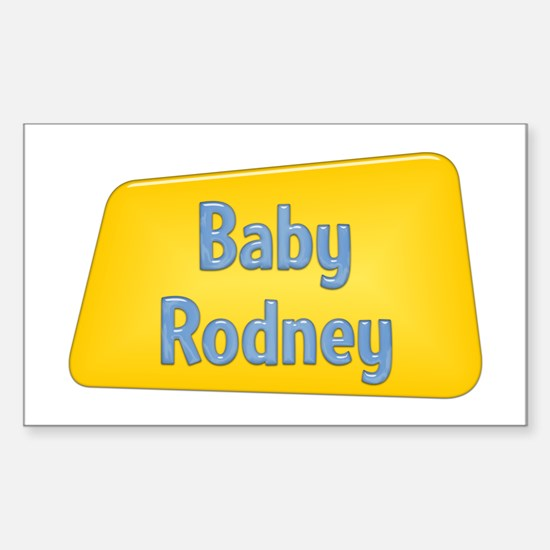 Baby Rodney Rectangle Decal