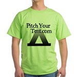 pitchyourtent Green T-Shirt