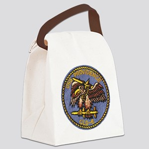 uss providence patch transparent Canvas Lunch Bag