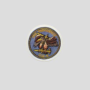 uss providence patch transparent Mini Button