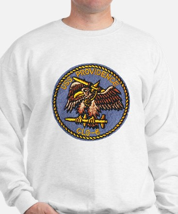 uss providence patch transparent Sweatshirt