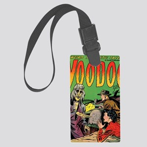 Voodoo #1 Classic Comic Book Cov Large Luggage Tag