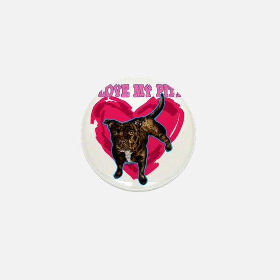 love my pitt Mini Button