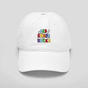 Bright Colors 3rd Grade Cap
